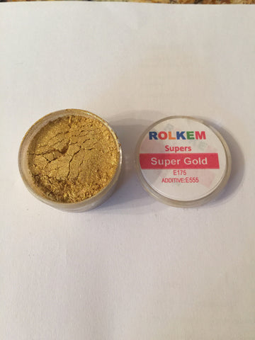 Rolkem Super Gold Edible Dust