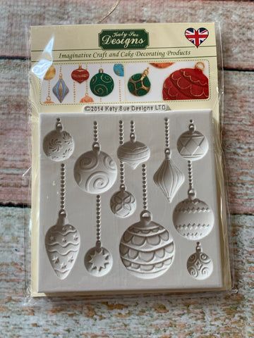 Ornaments by Katy Sue Ready Silicone Mold