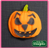 Pumpkin Face by Katy Sue Ready Silicone Mold