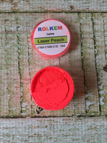 Rolkem Lumo Laser Neon Peach Edible Dust
