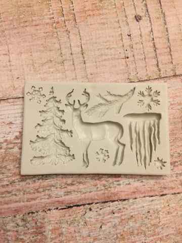 Winter Scene Ready Silicone Mold