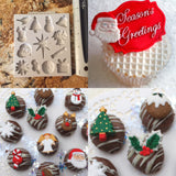 Christmas Embellishments by Katy Sue Ready Silicone Mold