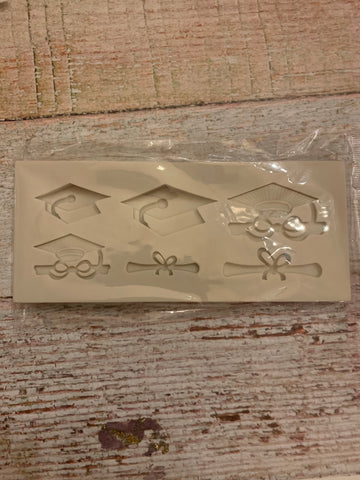 Graduation Ready Made Silicone Mold