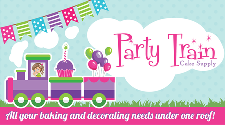 Party Train Cake Supplies