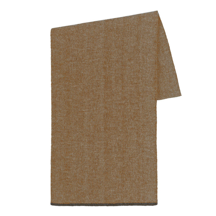 Fisher Scarf in Camel/Charcoal