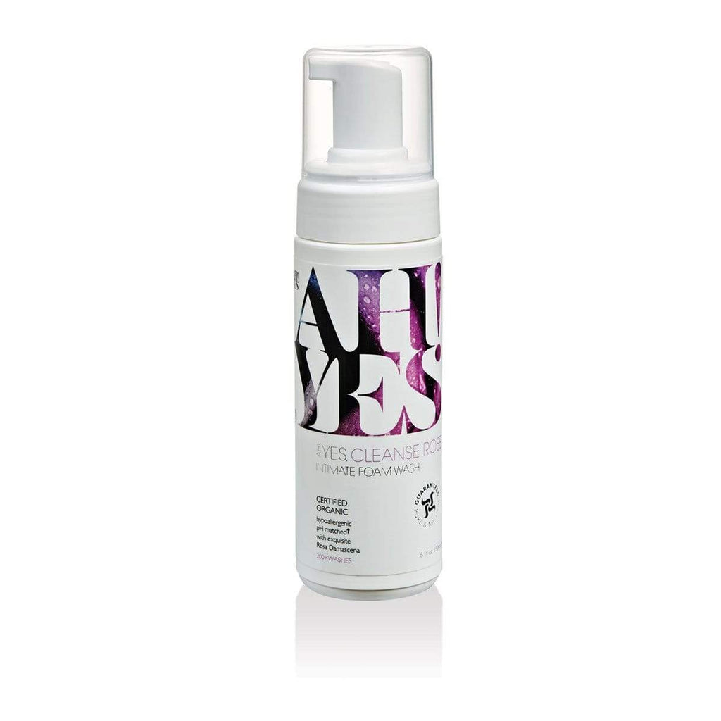 AH! YES-AH! YES CLEANSE Rose Scented Intimate Foaming Wash 5.1oz-1