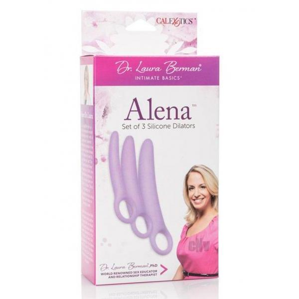 California Exotic Novelties-Dr. Laura Berman Silicone Dilators-ANAL PLUG SETS