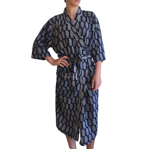 Bath Robe Jodhpur Cotton