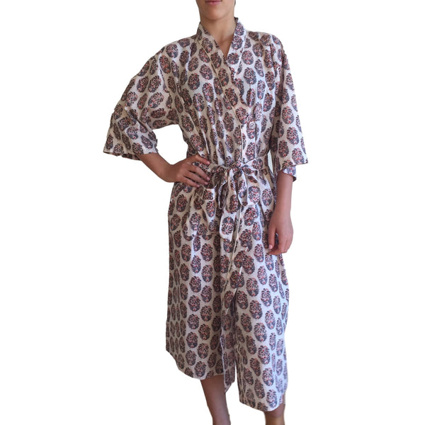 Bath Robe Udaipur Cotton