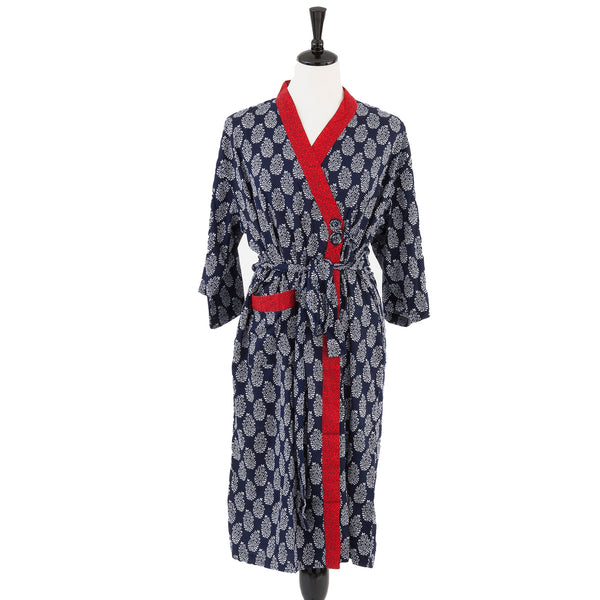 Bath Robe Jaipur Silk