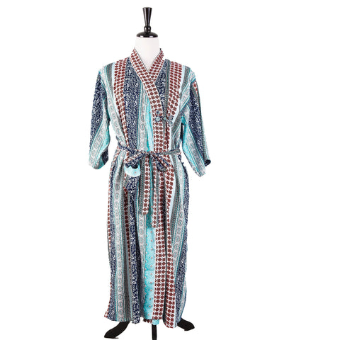Bath Robe Kochi Silk