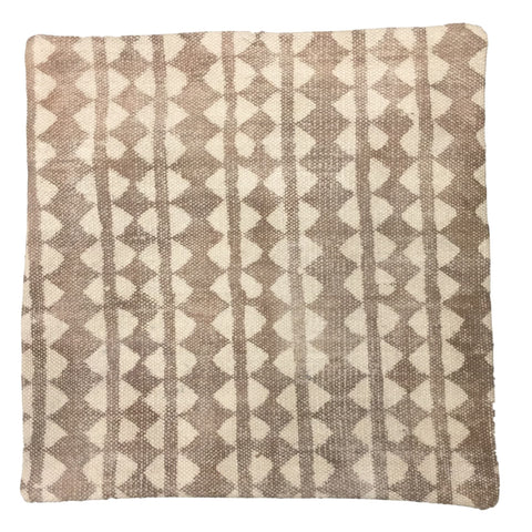 Dhurrie Cushion Freja Taupe