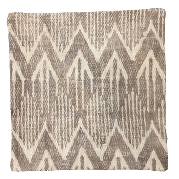 Dhurrie Cushion Frigg Taupe
