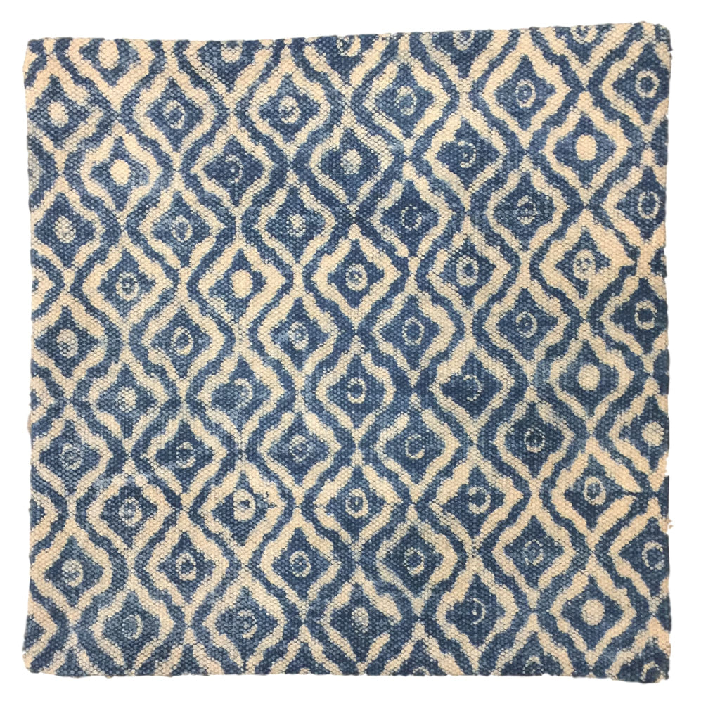 Dhurrie Cushion Hild Indigo
