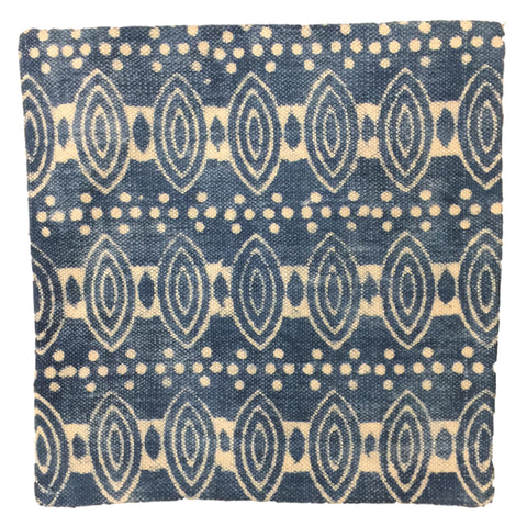 Dhurrie Cushion Idun Indigo