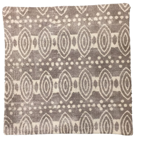 Dhurrie Cushion Idun Taupe