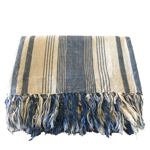 Joe Washed Linen Throw