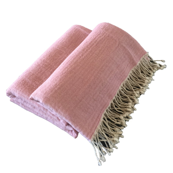 Maxie Boiled Wool Throw