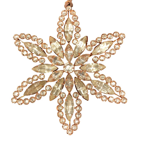 Rhinestone Ornament Large