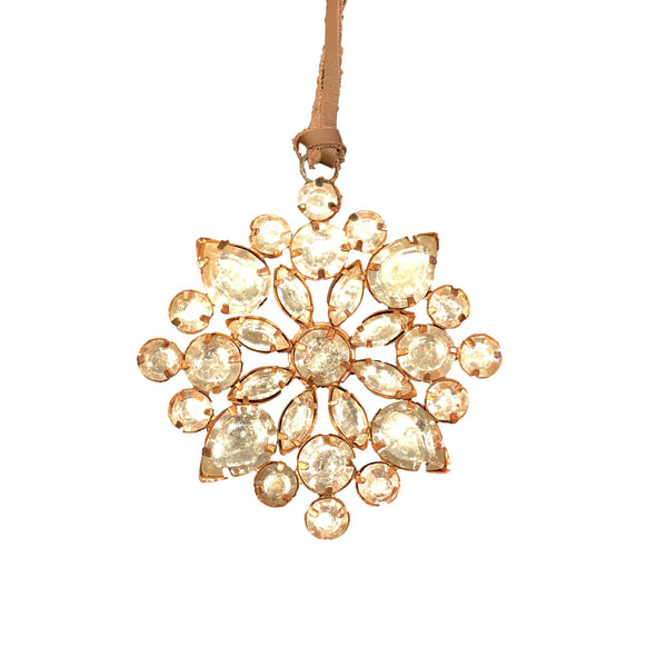 Rhinestone Ornament Small