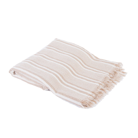 Boiled Wool Blanket Stripe