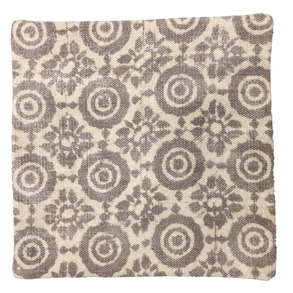 Dhurrie Cushion Saga Taupe
