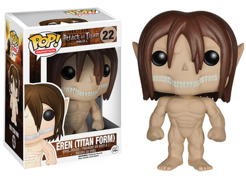 Eren Titan Form POP Figure