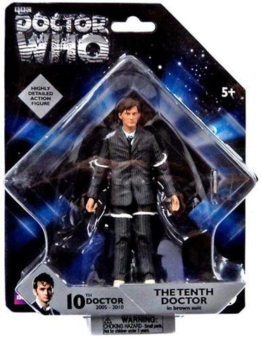 "10th Doctor 5"" figure with Sonic Screwdriver"