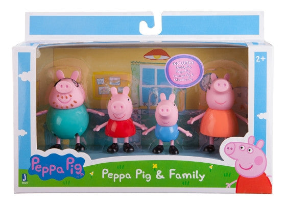 Peppa Pig and Family Pack
