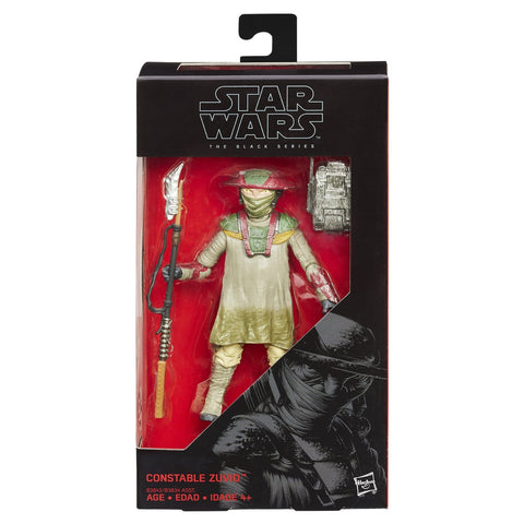 "The Force Awakens Black Series 6"" Constable Zuvio"