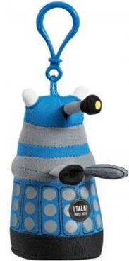 Mini Blue Dalek - Talking Clip On