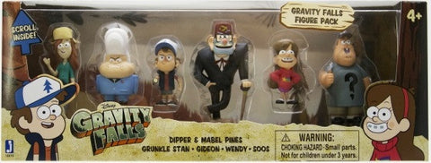 "Gravity Falls 2"" Deluxe 6 Pack"