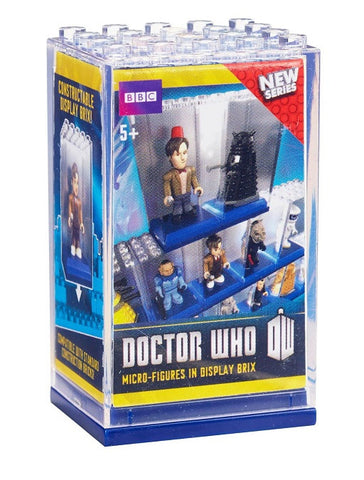 Doctor Who Micro-Figures in Display Brix Single