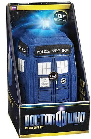 "Talking Tardis  8 1/2"" Plush"