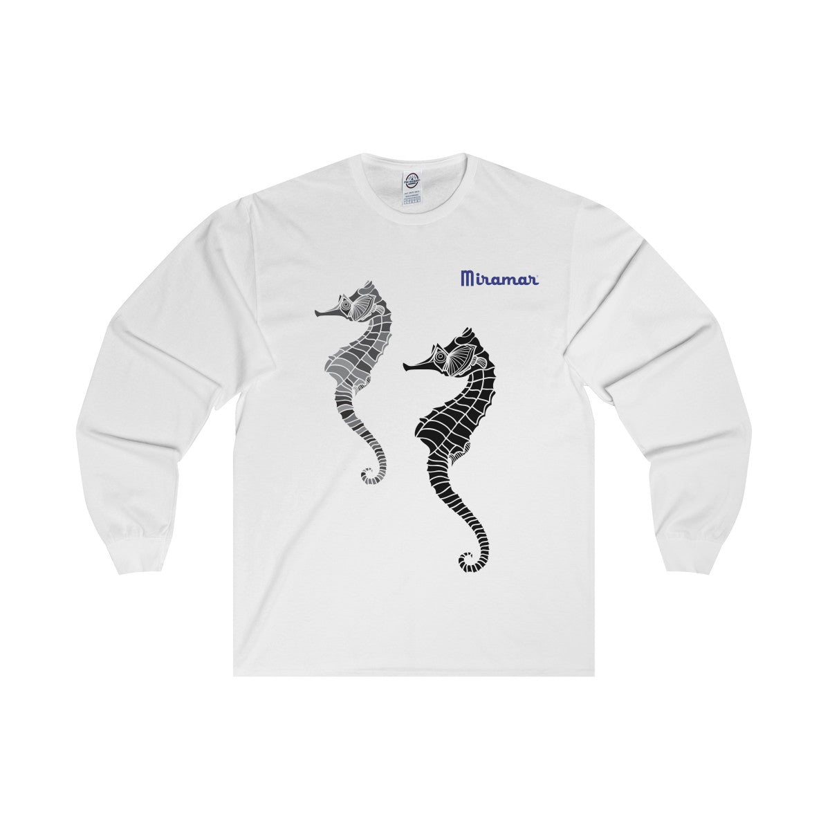 Miramar® Seahorse Collection Adult Long Sleeve Tee