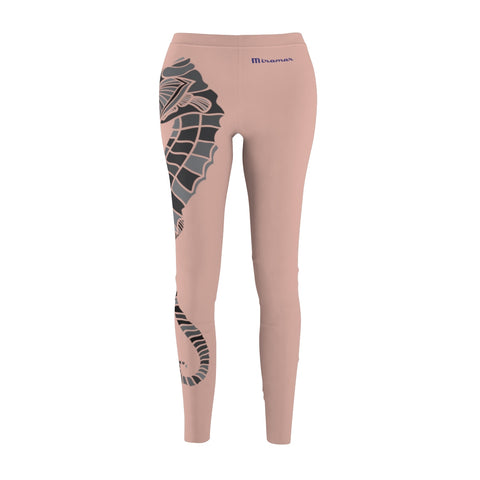Miramar® Seahorse Collection Minillial Pink Women's  Leggings