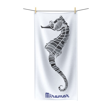 Miramar® Seahorse Collection Bath Towels