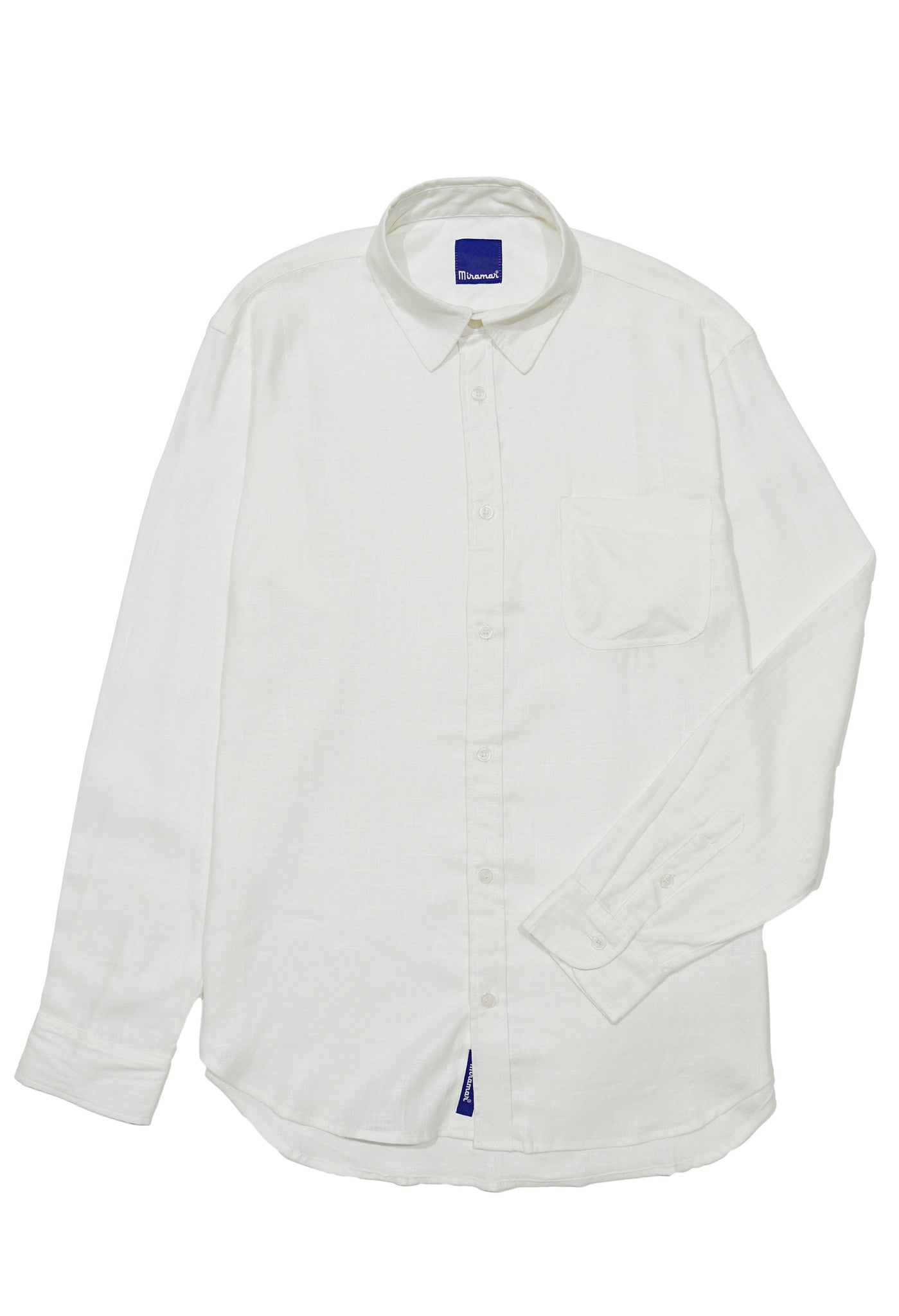 White Linen Button Down