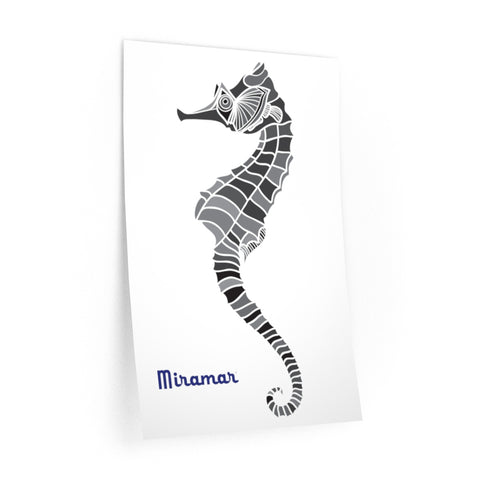 Miramar® Seahorse Collection Wall Decals