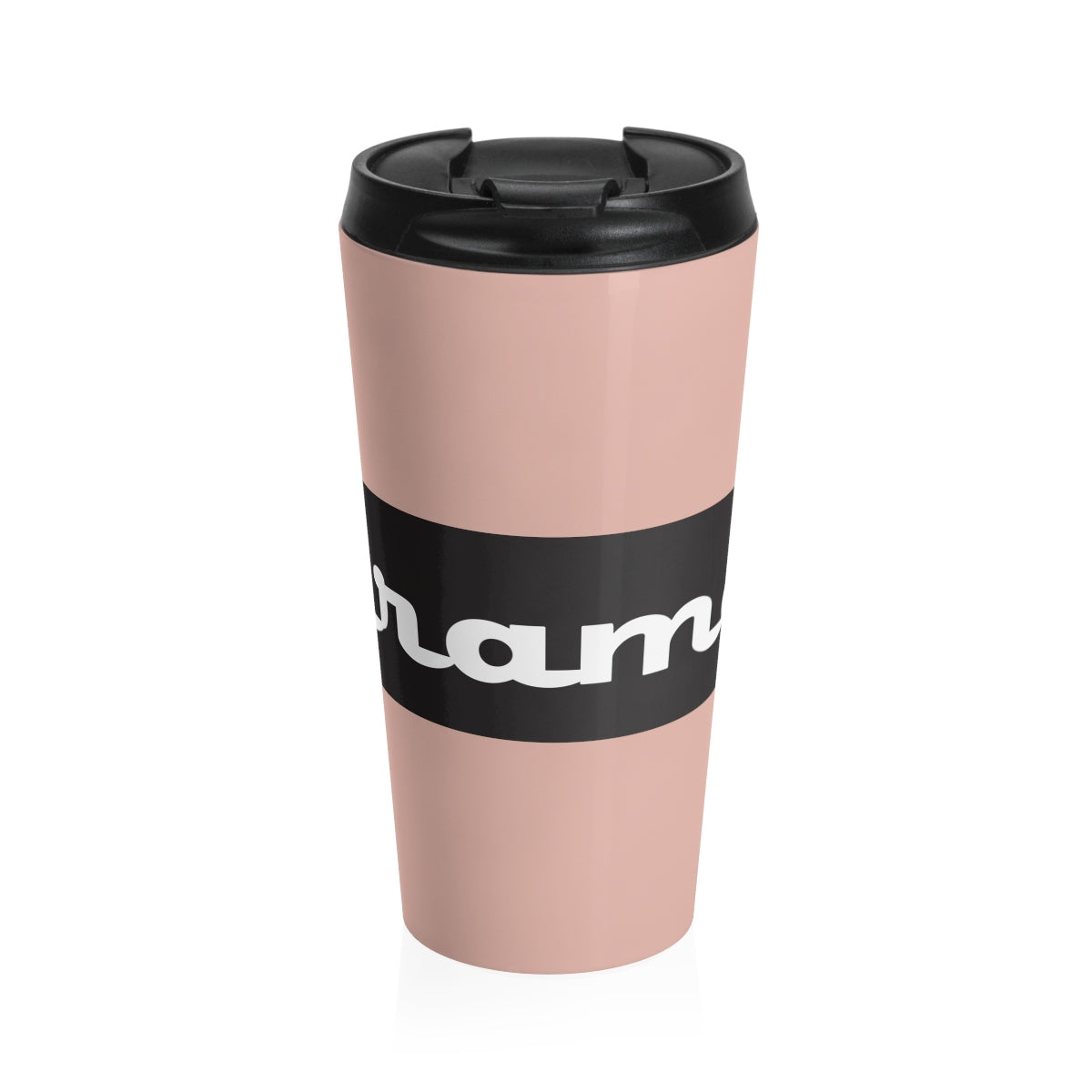 Miramar® Signature Collection Minillial Pink Stainless Steel Travel Mug