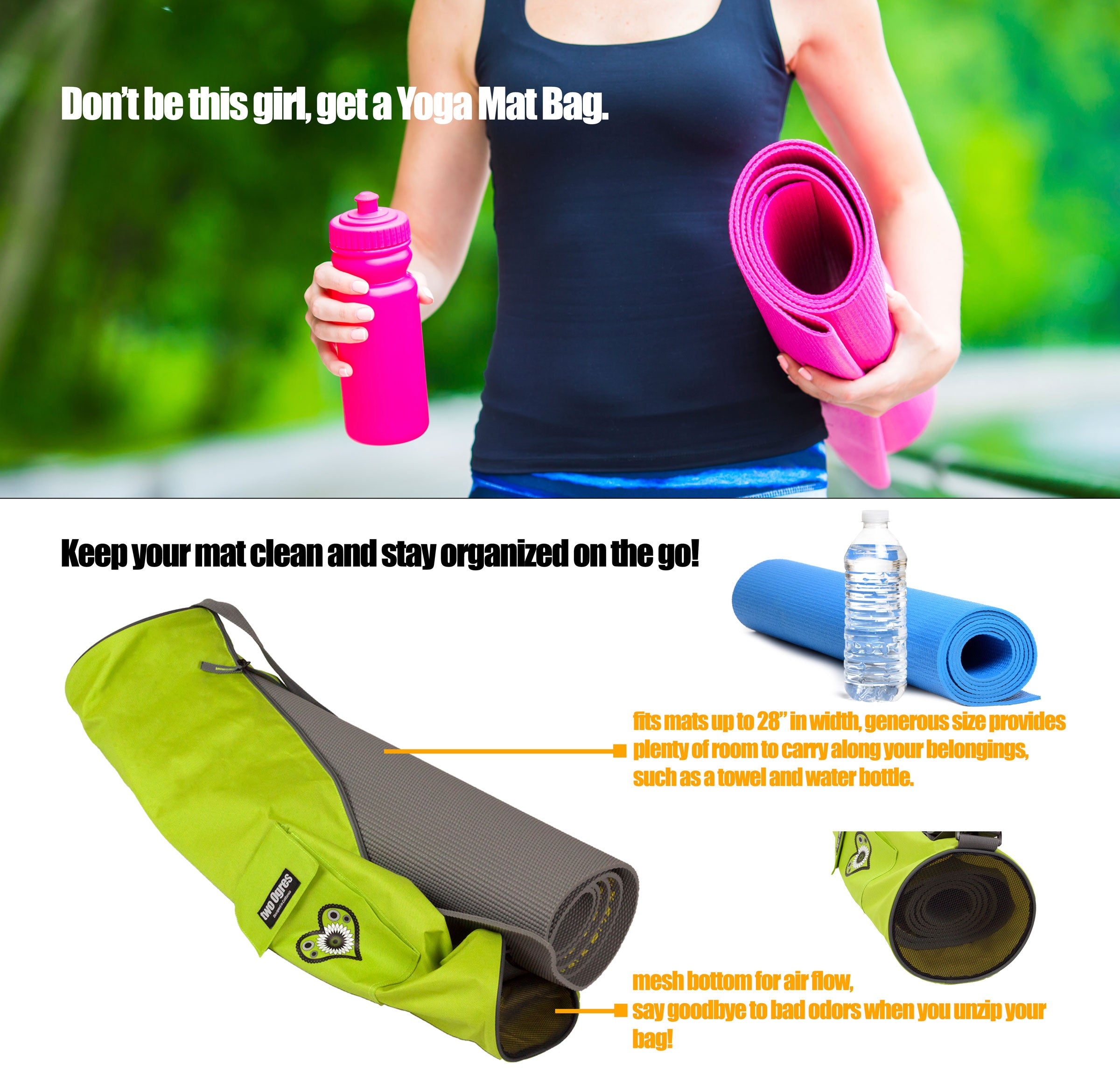 Get a Yoga Mat Bag!