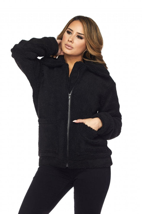 Black Thalia Coat