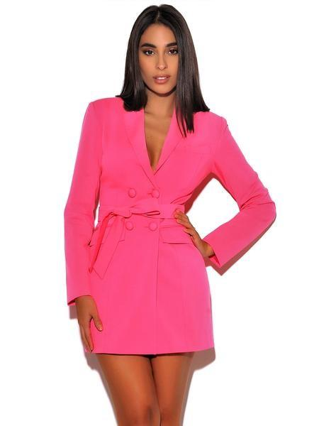 Hailey Blazer Dress - Dress - Marsia