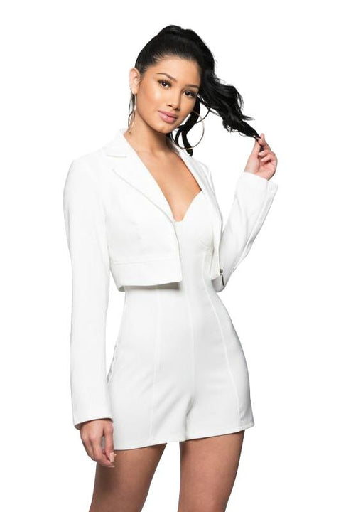 Maya Jacket And Buster Romper Set - Sets - Marsia