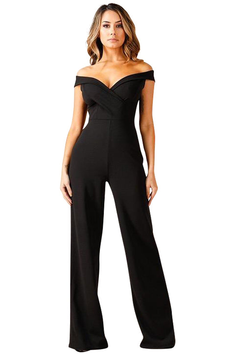 Alexis Off The Shoulder Jumpsuit - Jumpsuits - Marsia