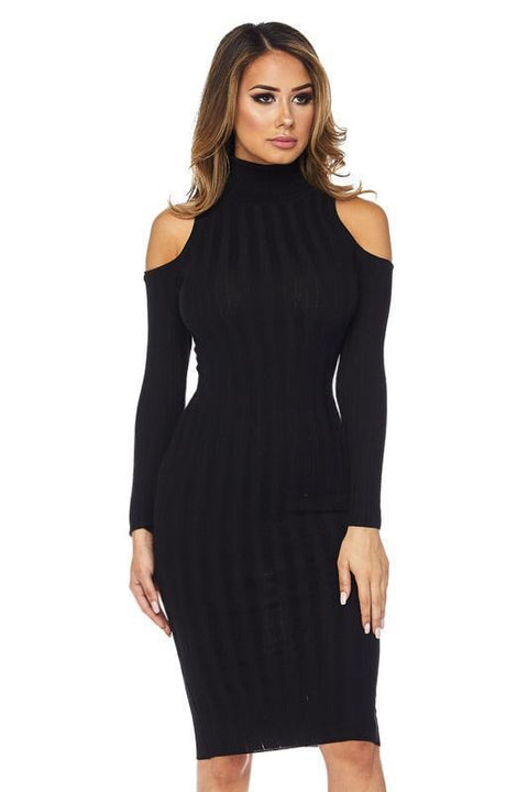 Dress - Mia Cold Shoulder Dress