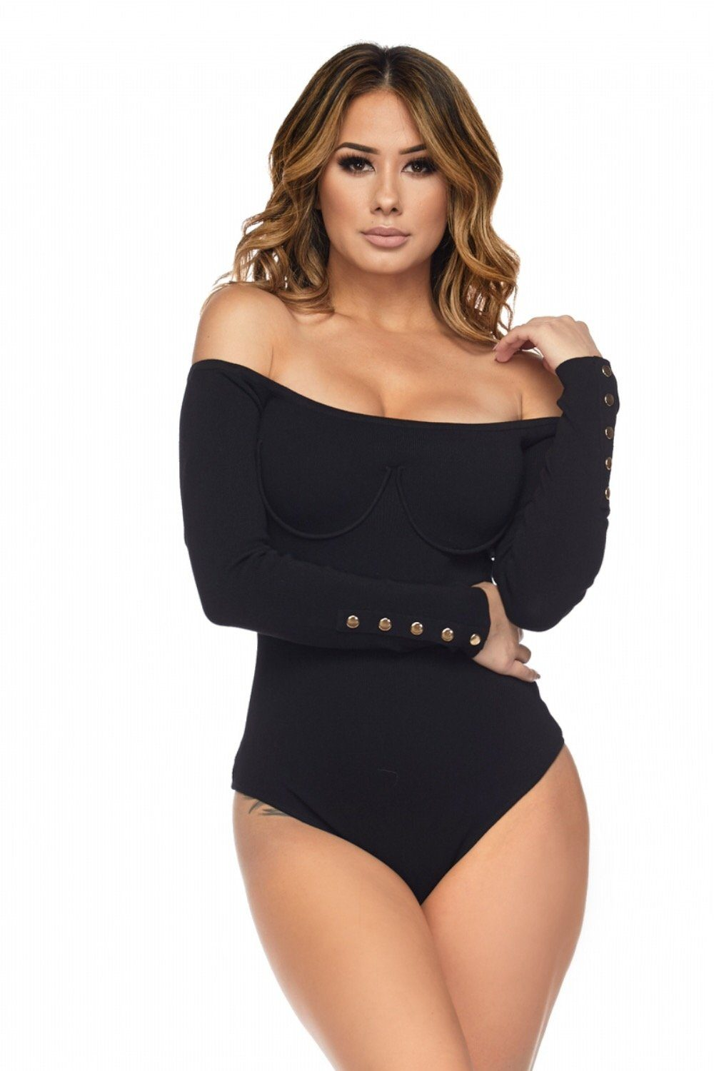 Capri Off The Shoulder Bodysuit