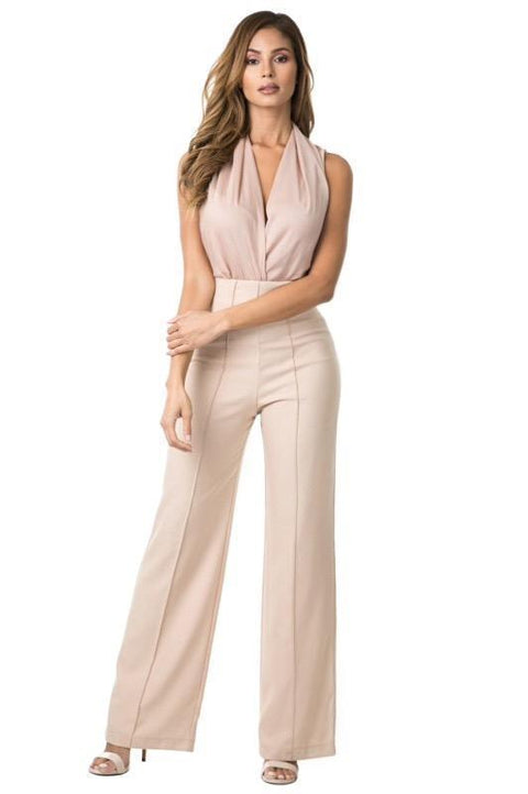 Pants - Coco Cinched Waist High Waisted Trousers