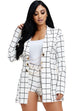Tasha Two Piece Shorts and Jacket Set - Sets - Marsia