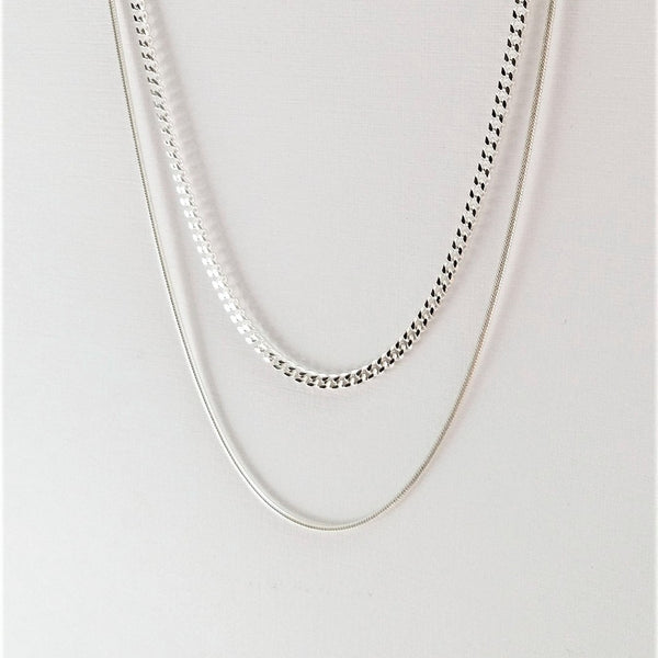 Envy necklace (Silver or Gold plated) - 2 length options